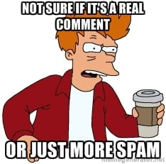 An Ingenious Way To Fight Comment Spam